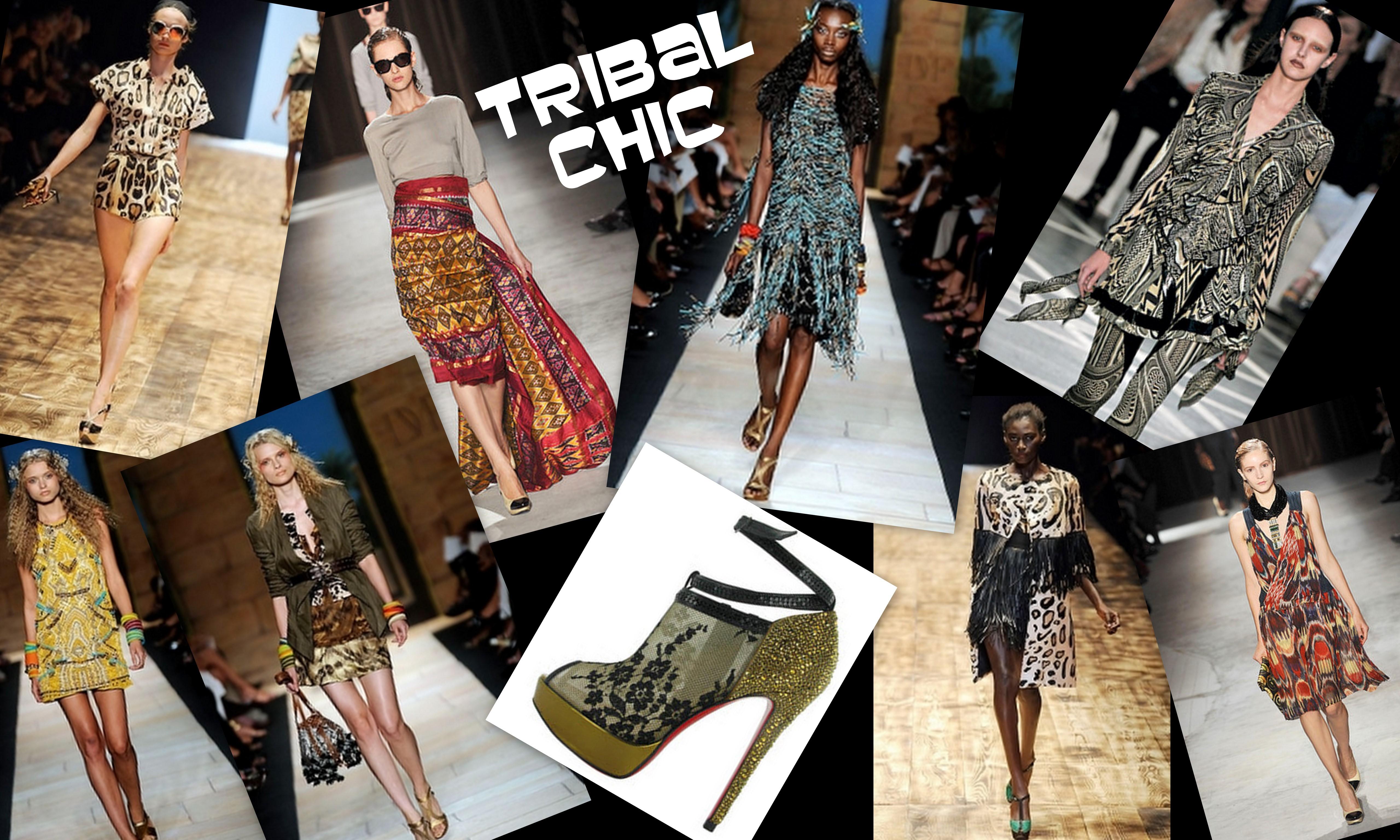 Tribal Chic London Street Style